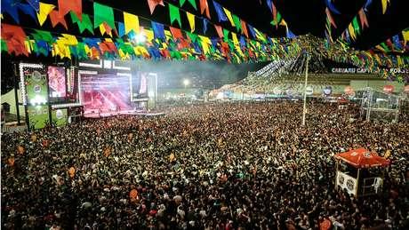 Na festa de São João do ano passado, Caruaru recebeu 2 milhões de turistas, segundo a prefeitura