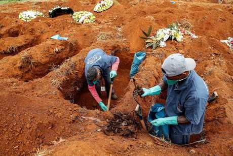 Brasil já contabiliza 46.510 mortes pelo novo coronavírus