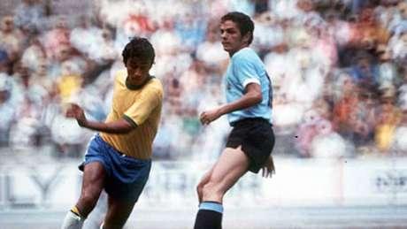 Clodoaldo anotou o gol de empate contra o Uruguai (Foto: Reprodução)
