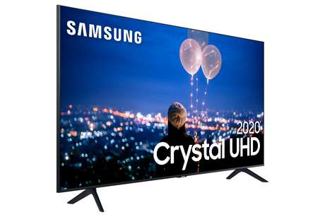 Os aparelhos da linha Crystal UHD possui o processador Crystal, capaz de melhorar a qualidade da imagem automaticamente, alterando saturação, contraste, luminosidade e resolução