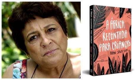 """Avani Souza Silva e seu livro: """"Contação de histórias é muito salutar e prazeroso pois aproxima as pessoas"""""""
