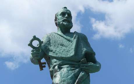 Estátua de São Pedro - Crédito: Ewa Klejnot/Pixabay