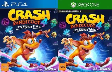 Crash Bandicoot 4: It's About Time deve ser continuação direta de Crash Bandicoot: Warped, de 1998.