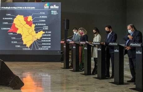 Em entrevista coletiva, Governo do Estado apresentou mudanças nas fases de retomada de alguns municípios