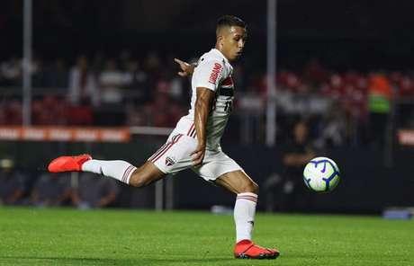 Igor Vinícius crê que confiança fará o São Paulo retomar nível de antes da pausa (Foto: Rubens Chiri/saopaulofc.net)