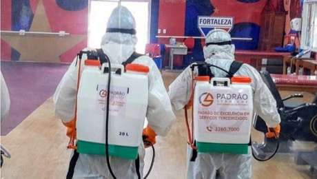 Fortaleza fez higienização do CT e testes nos jogadores antes de retorno aos treinos