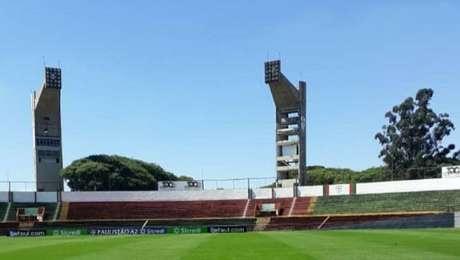 Portuguesa manteve durante a pandemia a manutenção do estádio do Canindé