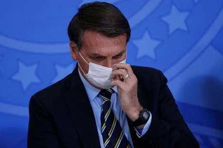 Presidente Jair Bolsonaro em Brasília 17/06/2020 REUTERS/Adriano Machado