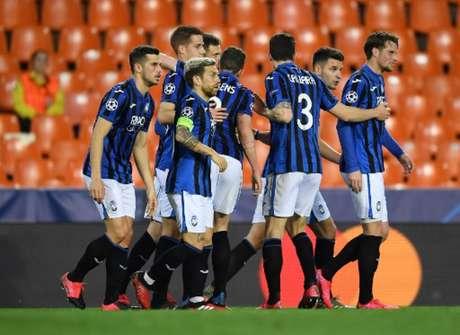 Atalanta tem média de quase três gols por jogo no Italiano (POOL UEFA / AFP)