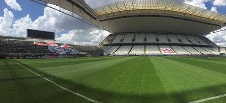 Arena Corinthians será disponibilizada para testes de COVID-19 a partir desta quarta (Foto: Divulgação/Corinthians)