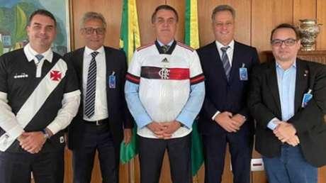 Diretorias foram a Brasília (DF) em maio (Reprodução/Instagram)