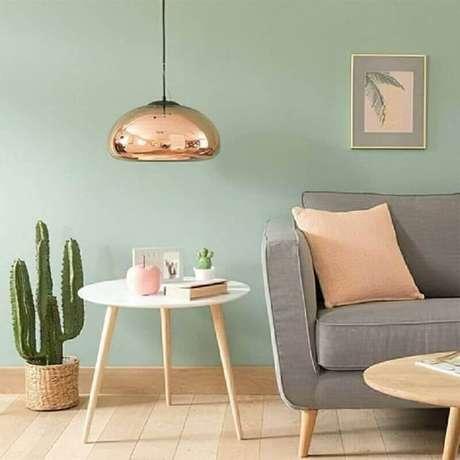 1. A cor verde menta acrescenta um toque super delicado e charmoso na decoração dos ambientes – Foto: Pinterest