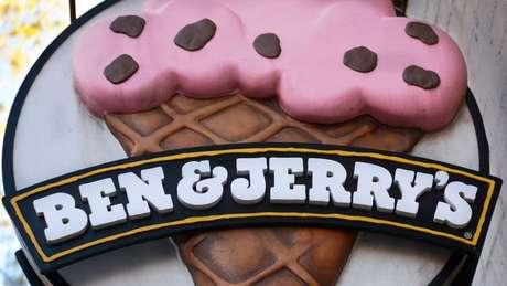 A marca de sorvete Ben & Jerry's é controlada pelo conglomerado Unilever