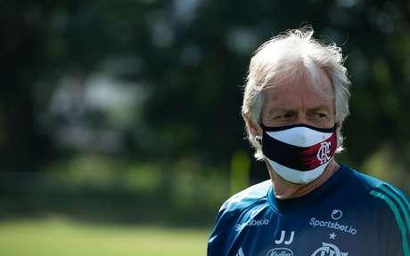 Jorge Jesus chegou ao Fla em junho de 2019 (Foto: Alexandre Vidal/Flamengo)