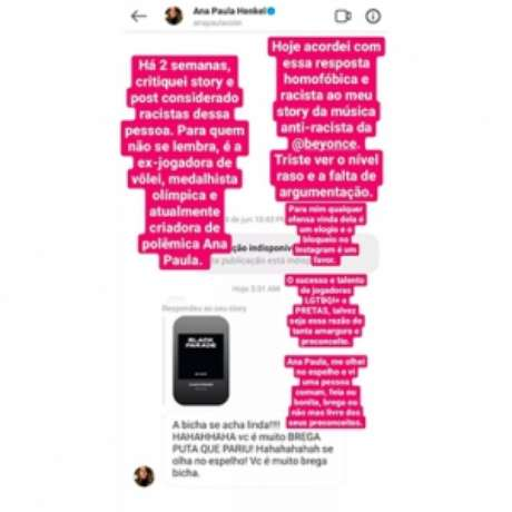 Assessor registrou as ofensas de Ana Paula (Foto: Reprodução)