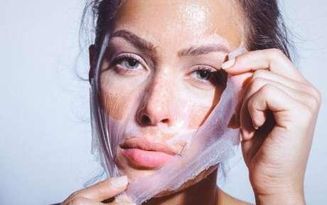 Poluição na pele