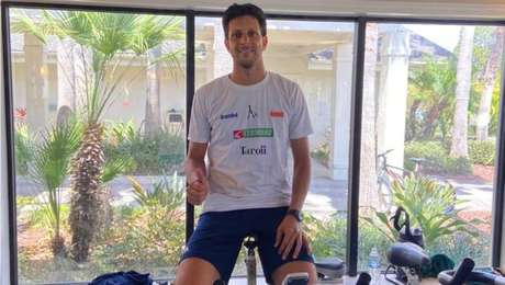 Marcelo Melo mantém treinos nos EUA