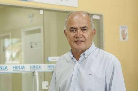O secretário municipal de Saúde e Defesa Civil de Duque de Caxias, José Carlos de Oliveira