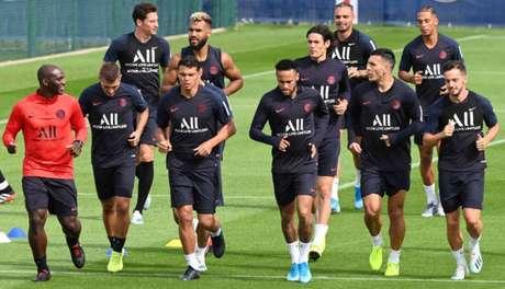 PSG retornou aos treinos (Foto: Dominique Faget / AFP)