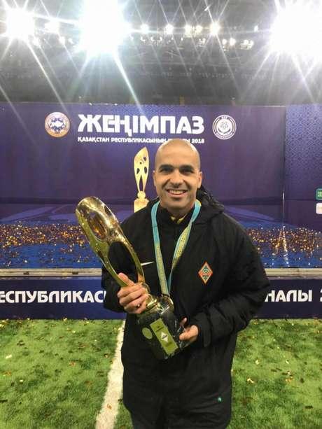Diogo Leite elogiou o Kairat FC (Foto: Divulgação)