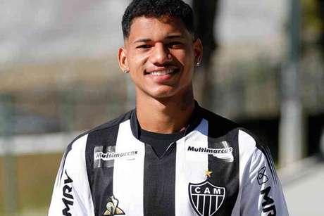 Marrony assinou com o time mineiro até junho de 2025-(Bruno Cantini/Atlético-MG)