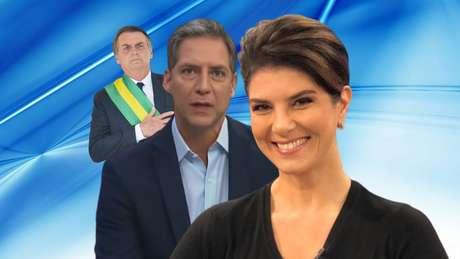 Mariana Godoy tem a missão de reverter a linha editorial conservadora imposta por Lacombe, apoiador do presidente Bolsonaro