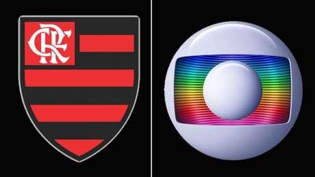 Flamengo e Globo seguem em atrito por direitos de transmissão dos jogos no Carioca (Imagem: Montagem)