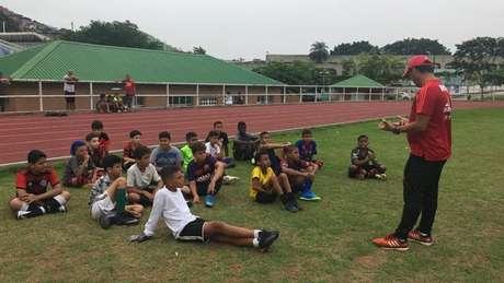 Em parceria com a Prefeitura, Flamengo busca jovens talentos para as divisões de base (Foto: Divulgação)