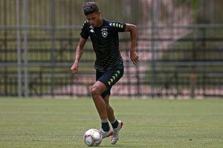 Sousa em ação pelo Botafogo (Foto: Vítor Silva/Botafogo)