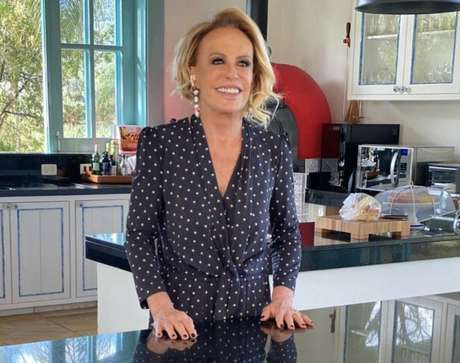 A apresentadora Ana Maria Braga