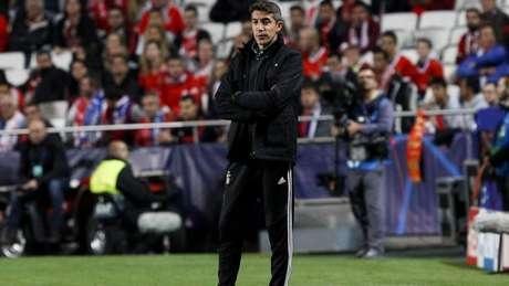 Bruno Lage comanda o Benfica contra o Marítimo. Mas ele não continuará na próxima temporada (Twitter)