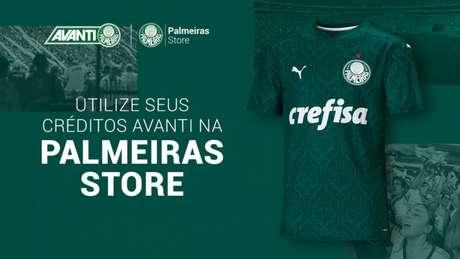 Palmeiras oferece a possibilidade de sócio-torcedor ter descontos na loja online oficial do clube (Divulgação)