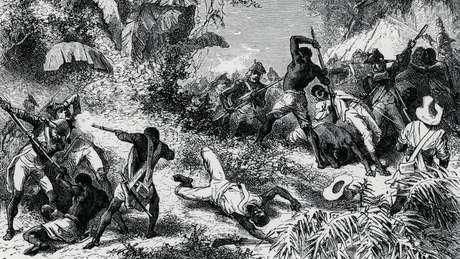 A revolta dos escravos haitianos deu início a eventos que alteraram para sempre a geopolítica mundial