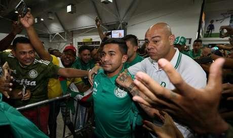 Dudu se defende da acusação de agredir ex-mulher enquanto negocia ida ao Qatar (Agência Palmeiras/Divulgação)