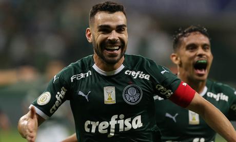 Bruno Henrique fez o último gol do clássico (Foto: Divulgação/Palmeiras)