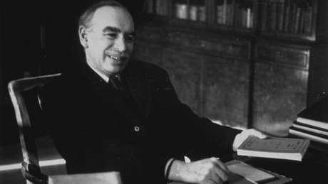 Schumpeter e John Maynard Keynes (na foto) são considerados os principais economistas do século 20