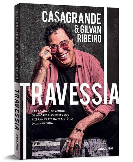 Capa do livro Travessia, escrito por Gilvan Ribeiro e Casagrande
