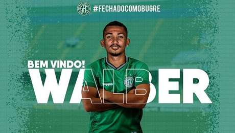Guarani oficializa contratação do zagueiro Walber, do Athletico-PR