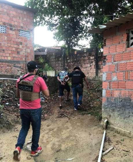 A Polícia Civil do Amazonas prendeu 28 foragidos da Justiça