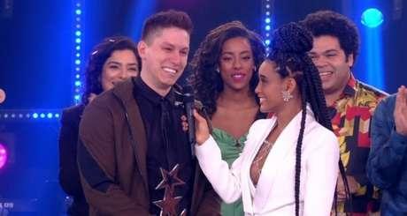 """No """"Popstar"""", atração da Globo"""", Jakson Follmann vence competição de canto (Foto: Reprodução/Globo)"""