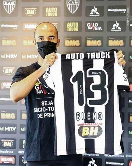 Bueno foi emprestado pelo Kashima Antlers até junho de 2021-(Bruno Cantini/Atlético-MG)