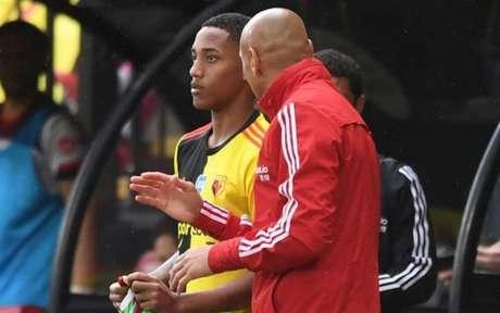 João Pedro fez a sua estreia pela equipe inglês (Foto: Divulgação / Watford)