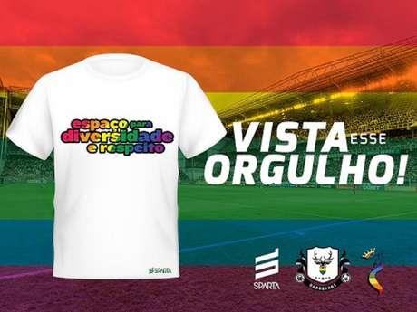 O Coelho tomou uma iniciativa afirmativa na luta contra o preconceito LGTBQ+-(Divulgação;América-MG)