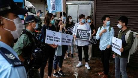 Ativistas pediram que milhões fossem para as ruas para protestar contra a lei