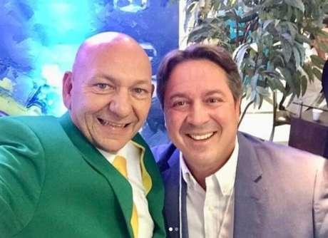 Luciano Hang e Glauco José Côrte Filho