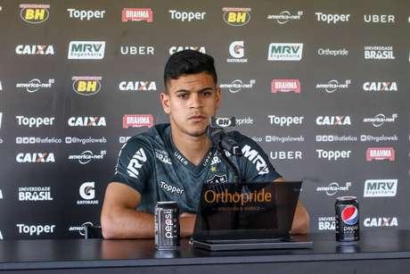 Hulk foi revelado nas categorias de base do alvinegro, mas não teve muitas sequências, não se firmando na equipe mineira-(Bruno Cantini/Atlético-MG)