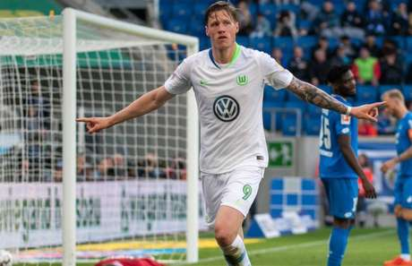 Weghorst é destaque do Wolfsburg na temporada (Foto: Reprodução)