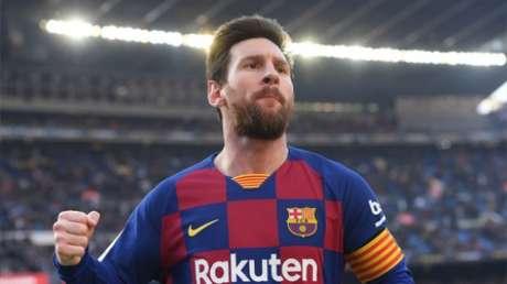 Messi é o atual artilheiro do Campeonato Espanhol (Foto: Josep LAGO / AFP)
