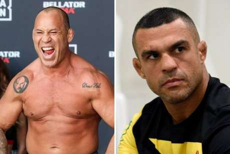Wanderlei Silva e Vitor Belfort são rivais, mas se enfrentaram apenas uma vez (Foto: Bellator/UFC)