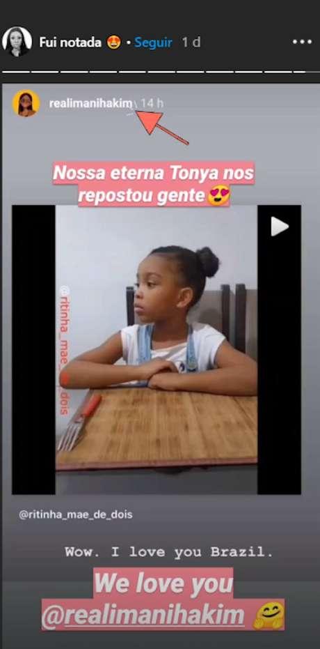 Imani Hakim, que viveu Tonya em 'Todo Mundo Odeia o Chris', divulgou um vídeo da família